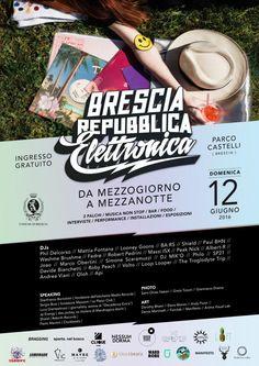 Brescia, Parco Castelli di Mompiano, #BRE Brescia Repubblica Elettronica