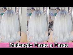 Matização com BlondPró - Enze professional - Passo a passo - YouTube