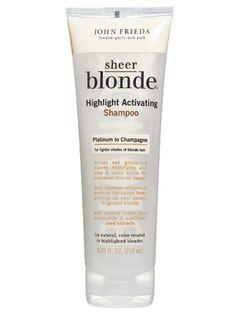 John Frieda Sheer Blonde Highlight Activating Shampoo - InStyle Best Beauty Buys 2006 Winner
