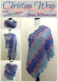 The Move On Up Wrap Free Crochet Pattern | Styles Idea