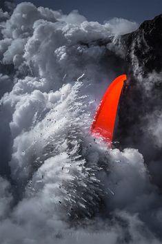 Cascade of Lava: Photos by Michael Shainblum – Inspiration Grid | Design Inspiration