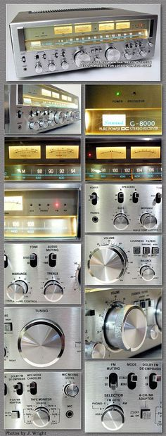 Vintage audio Sansui Receiver hi fi stereo. In my opinion the is better. The dynamics and detail in incredible! Radios, Hi Fi System, Audio System, Mc Intosh, Speaker Amplifier, Speakers, Retro, Cd Player, Tv Led
