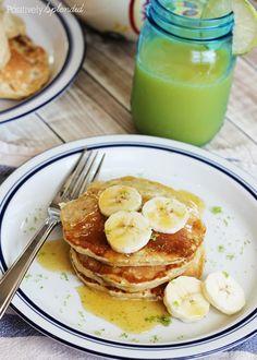... coconut banana pancakes with cinnamon honey butter coconut banana