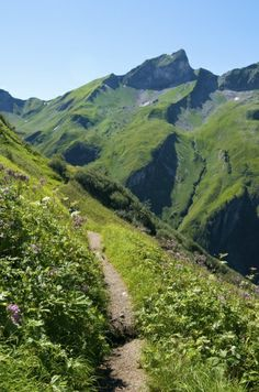 Hintersteiner Tal Bad Hindelang Allgäu - wandern