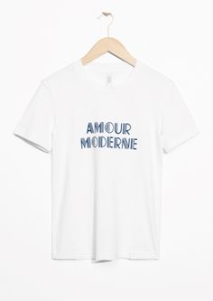 & Other Stories | Amour Moderne Tee