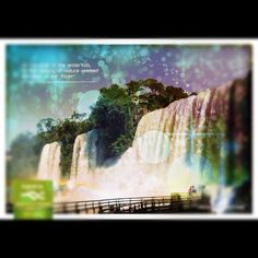 "Iguazú Falls. There is something ""wonder"" around here. www.argentina.travel"