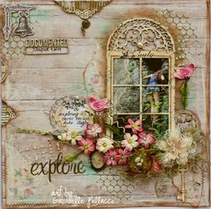 Guest Designer for Flying Unicorn {Layouts & Cards} - Such a pretty mess