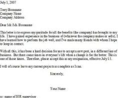 Professional Resignation Letter Time To Say Good Byeyour Resignation.#resignation #letter .