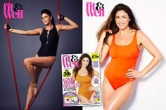 Lisa Snowdon shows off her curves in latest photo shoot revealing she's happier than ever at 45