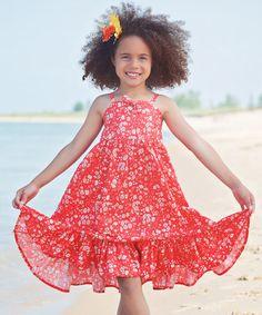 Look what I found on #zulily! Red Emma Dress - Toddler & Girls #zulilyfinds