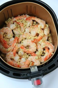 Fryer Parmesan Shrimp Air Fryer Parmesan Shrimp - Simple and flavorful garlic and parmesan air-fried shrimp, ready in 10 minutes!Air Fryer Parmesan Shrimp - Simple and flavorful garlic and parmesan air-fried shrimp, ready in 10 minutes! Air Fryer Oven Recipes, Air Frier Recipes, Air Fryer Dinner Recipes, Air Fryer Recipes Shrimp, Recipes Dinner, Air Fryer Recipes Vegetables, Cooked Shrimp Recipes, Dessert Recipes, Breakfast Recipes