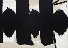 Elegy to the Spanish Republic, No. 110 by Robert Motherwell