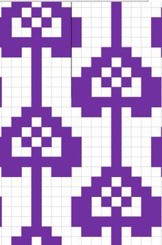 Fair Isle Knitting Patterns, Knitting Charts, Knitting Socks, Mittens, Needlework, Crafts, Villas, Cookies, Crocheting