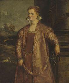 Retrato de Irene de Spilimbergo. Autor desconocido. Realizada a mediados del siglo XVI. Ubicada actualmente en la Galería Nacional de Arte de Washington, Estados Unidos. Irene de Spilimbergo (1540-1559 ) fue una pintor y poeta italiana. Murió a la corta edad de 19 años. Tristemente, se conservan muy pocas obras suyas.