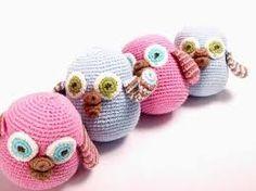 Image result for crochet owl