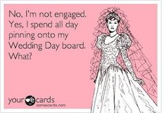no, I'm not engaged. yes, I spend all day pinning onto my wedding day board. | http://weddingdressblogimages.blogspot.com