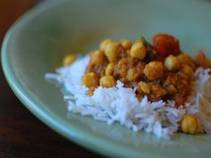 This fabulous chickpea recipe is adapted from Madhur Jaffreys classic.