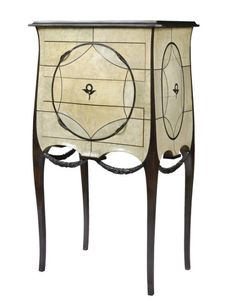 Paul Iribe and Clement Rousseau   Ebony commode 1910's   Christie's   Art Deco