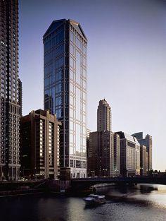 United Airlines Tower, en Chicago, proyecto de Ricardo Bofill