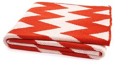 One Kings Lane - Shop the Show: HGTV Star - Zigzag Throw, Paprika