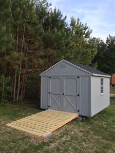 How To Build A Shed Ramp {Potholes And Pantyhose | Storage Shed | Pinterest  | Backyard, Decking And Storage Buildings