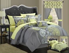 Chic Home Olivia 20 Piece Comforter Set & Reviews | Wayfair