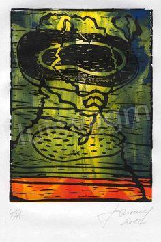 Luis Seiwald - Van Gogh - Siebdruck - Hochdruck - 2012