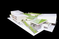 Fumihiko Maki Commissioned to Design China's First Design Museum,Model of the Shekou Museum. Image © China Merchants Property Development & Maki and Associates Museum Architecture, Concept Architecture, Architecture Details, Modern Architecture, Architecture Models, Chinese Architecture, Fumihiko Maki, Arch Model, Famous Architects