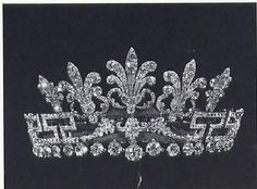 Spencer honeysuckle tiara in its original form