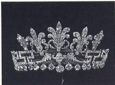 Spencer honeysuckle tiara in its original form