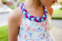 Braided Dress Free Pattern - The Sewing Rabbit