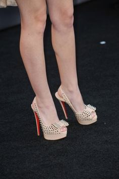 Christian Louboutin Have these in Baby Pink