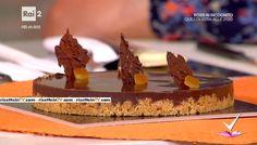 """""""Detto Fatto"""": la ricetta della crostata aranciosa di Alessandro Servida del 31 gennaio 2017."""