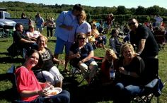 A great day at Stonington Vineyards with great people!
