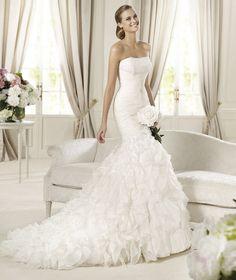 Abiti da sposa #Pronovias 2013