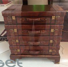 Suitcase Chest Of Drawers - Madrid
