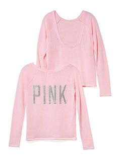 PINK Low-Back Pullover #VictoriasSecret http://www.victoriassecret.com/pink/hoodies-and-crews/low-back-pullover-pink?ProductID=115673=OLS?cm_mmc=pinterest-_-product-_-x-_-x