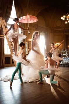 ballet wedding shoot