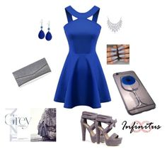 """Infinituscases"" by munevera-berbic ❤ liked on Polyvore featuring Boohoo, GUESS, Bling Jewelry, infinituscases and loweinfinituscases"