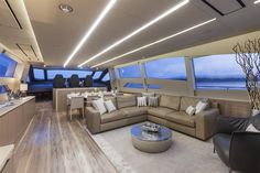 Internal view Pershing Yacht - Pershing 108