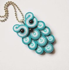 Decomama Turquoise Necklace, Diy And Crafts, Pendant Necklace, Jewelry, Fashion, Moda, Jewlery, Jewerly, Fashion Styles