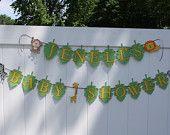 Safari/Jungle Themed Baby Shower/Birthday Banner