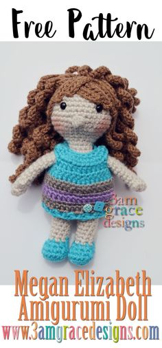 1078 Best Crochet Dolls Stuffed Toys Images In 2019