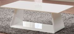 Exclusive Asti White High Gloss Coffee Table