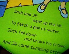Nursery Rhymes - Pinned by #PediaStaff.  Visit http://ht.ly/63sNt for all our pediatric therapy pins   We got this link from our friends at Literacy Speaks!  http://ht.ly/63IiO