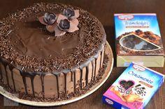 Tort cu crema de ciocolata si portocale - CAIETUL CU RETETE Tiramisu, Cake, Ethnic Recipes, Desserts, Tailgate Desserts, Deserts, Kuchen, Postres, Dessert