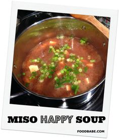 What The Heck Is Miso?   Miso Soup Recipe watch out for the ingredients, if you are allergic! I guess that goes without having to say it. Always beware the hidden ingredients!