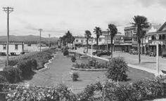 The Strand 1950's Tauranga.