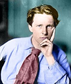 Rupert Brooke August 1887 – 23 April was an English poet known for his idealistic war sonnets written during the First World War, especially The Soldier. Rupert Brooke, William Butler Yeats, Dorian Gray, Colin Firth, British Poets, British History, Duncan Grant, Bloomsbury Group, La Dordogne