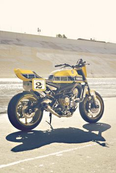 Hot off the press: Yamaha has hooked up with Roland Sands to build a flat track…